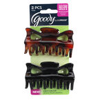Goody SlideProof Claw Clips - Large - 2's
