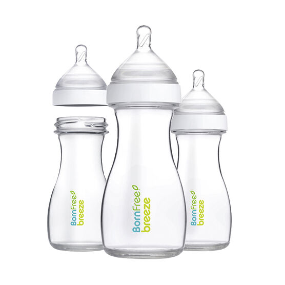 Born Free Breeze Plastic Bottle 3-Pack - 266ml - 48336