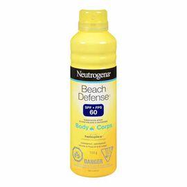 Neutrogena Beach Defense Sunscreen Spray - SPF 60 - 184g