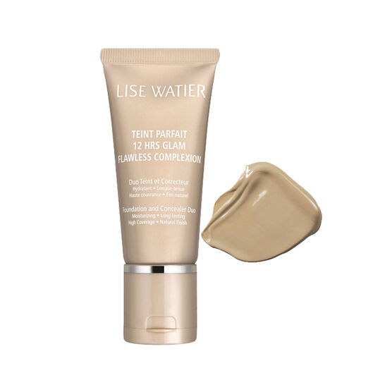 Lise Watier Teint Parfait 12 Hrs Glam Flawless Complexion Foundation and Concealer Duo - Naturel