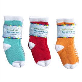 Honey Bunny Baby Socks - 2 pairs - Assorted