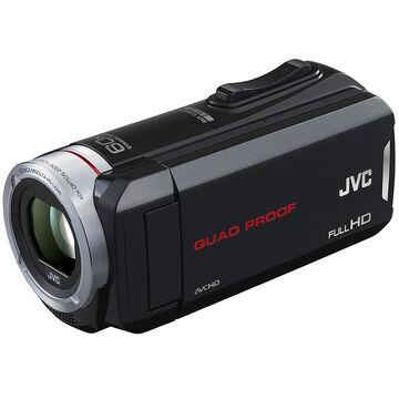 JVC Everio Quad-Proof Full HD Camcorder - GZ-R30B