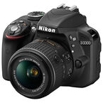 Nikon D3300 with 18-55mm VR II Lens - Black