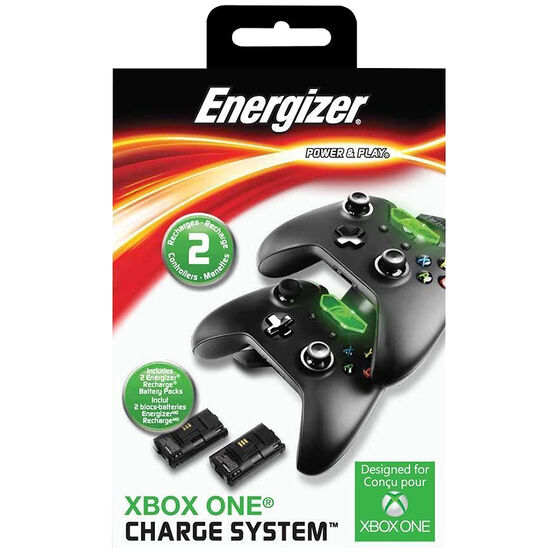 Xbox One Energizer 2X Charge System - Black - PL0018