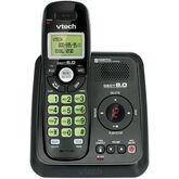 VTech 1-Handset Cordless Phone with Answering System - Black - CS612411BK