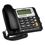 VTech Corded Big Button Phone with Caller ID - Black - CD1281