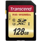 Transcend 4K 128GB SDXC - TS128GSDU3