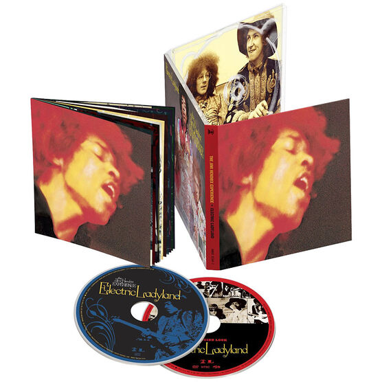 Jimi Hendrix - Electric Ladyland - CD + DVD