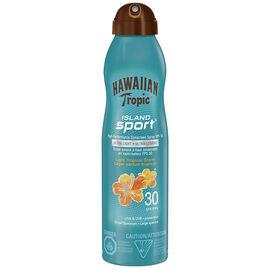 Hawaiian Tropic Island Sport Sunscreen Spray - SPF30 - 170g