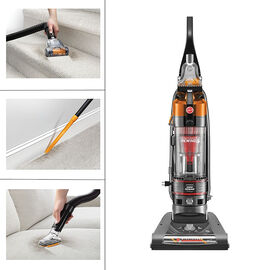 Hoover WindTunnel 2 Rewind Pet Bagless Upright Vacuum - Grey/Orange - UH70839