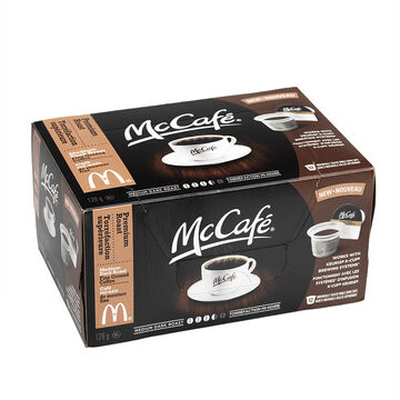 McCafe Coffee Pods - Medium Dark - 12 pack