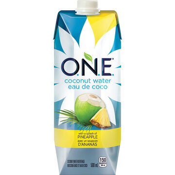 O.N.E Coconut Water - Pineapple - 500ml