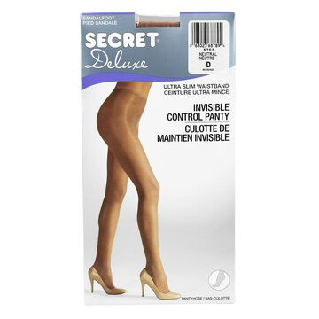 Secret Deluxe Reveal In-Control Pantyhose - Assorted