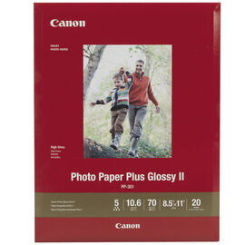 Canon Glossy Photo Paper - 8.5 x 11 inch - 20 Sheets - 1432C003
