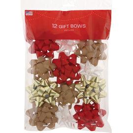 Christmas Petite Diamond Bows - 14218629-BG12
