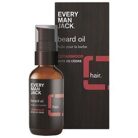 Every Man Jack Beard Oil - Cedarwood - 30ml