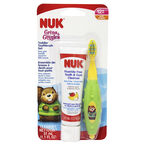 NUK Grin & Giggles Toddler Tooth & Gum Cleanser - Apple & Banana - 31ml - Assorted