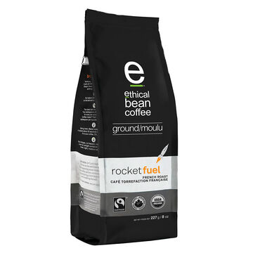 Ethical Bean Ground Coffee - Rocket Fuel - 227g