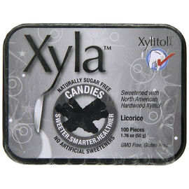 Xyla Candies - Licorice -100's