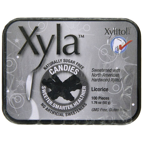 Xyla Candies - Licorice -100's