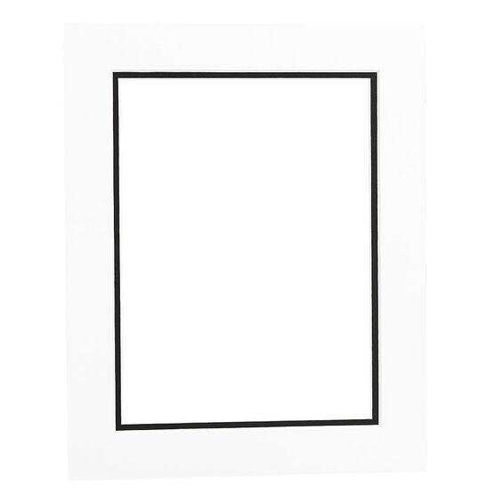 Tempo 8x10 Mat Frame - White/Black
