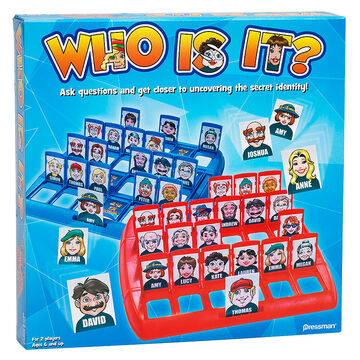 Who Is It Game