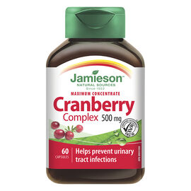Jamieson Maximum Concentrate Cranberry Complex 500 mg - 60's