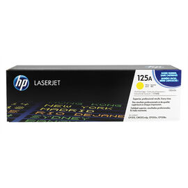 HP Color LaserJet  Yellow Print Cartridge with ColorSphere Toner - CB542A