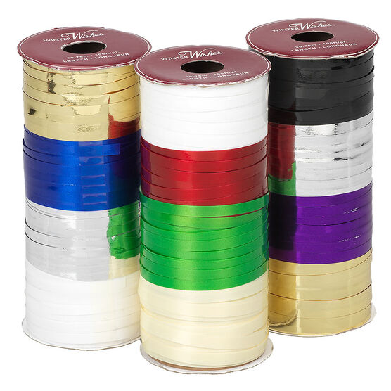 Winter Wishes Ribbon on Spool - Assorted