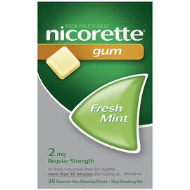 Nicorette Gum - Fresh Mint - 2mg - 30's