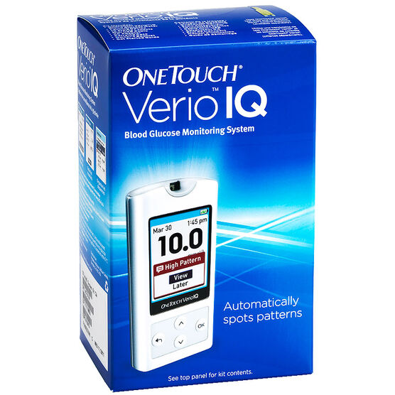 Lifescan One Touch Verio IQ Blood Glucose Monitoring Meter - 00760