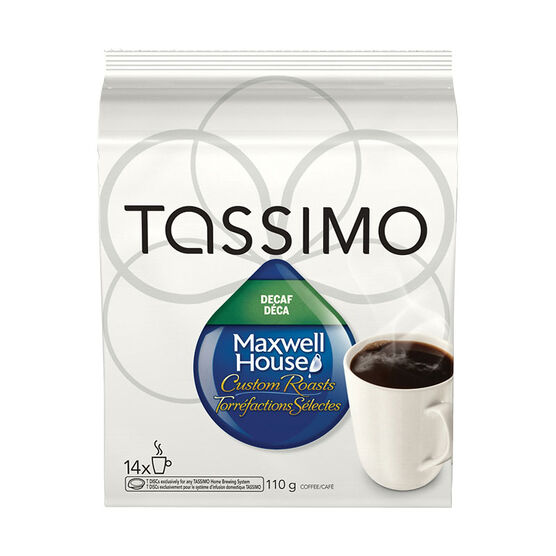 Tassimo Maxwell House Decaffeinated - 14 servings