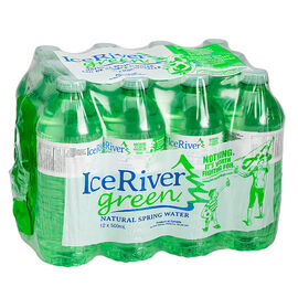 Ice River Green Spring Water - 12 x 500ml