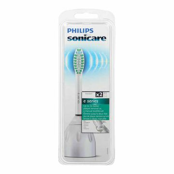 Philips Sonicare e-Series Standard Replacement Heads - 2's
