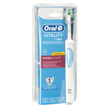oral b vitality floss action electric toothbrush london drugs. Black Bedroom Furniture Sets. Home Design Ideas