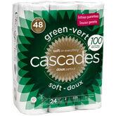 Cascades Bathroom Tissue -24's Double