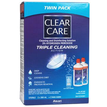 Ciba Vision Clear Care - 2 x 360 ml