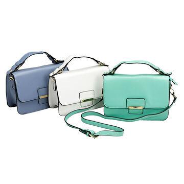 Elle Flap over Handbag - Assorted