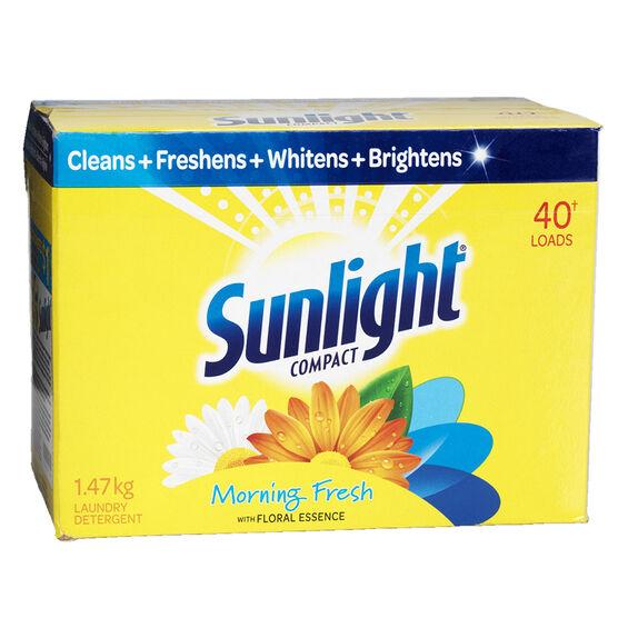 Sunlight Powder Laundry Detergent - Morning Fresh - 1.47kg