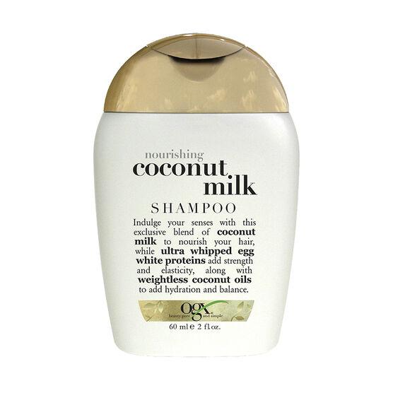 OGX Nourishing Coconut Milk Shampoo - 60ml