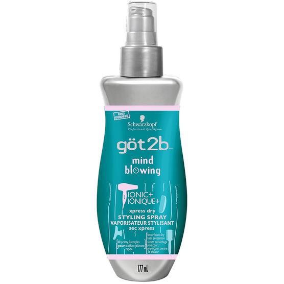 got2b Mind Blowing Dry Styling Spray  - 177ml