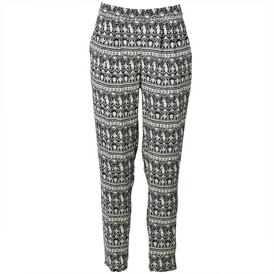Lava Pants Relaxed Fit - Black - Assorted