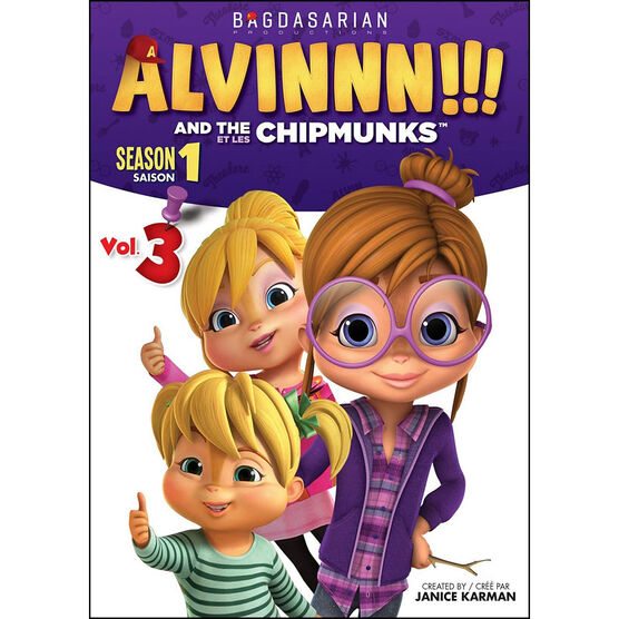 Alvin and the Chipmunks - Season 1: Volume 3 - DVD