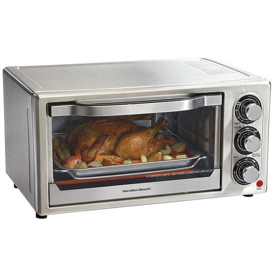 Hamilton Beach® Stainless Steel 6 Slice Toaster Oven - 31511
