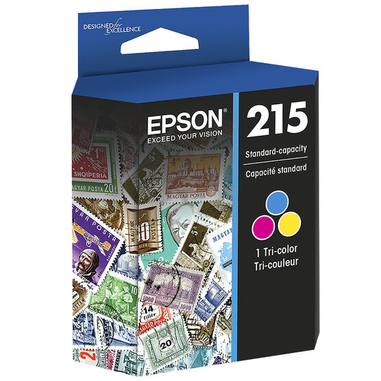 Epson 215 Standard-Capacity Ink Cartridge - Colour - T215530