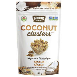 Hippie Snacks Coconut Clusters - Sesame Snap - 56g