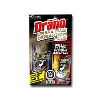 Drano Snake Plus Drain Cleaning Kit - 473 ml