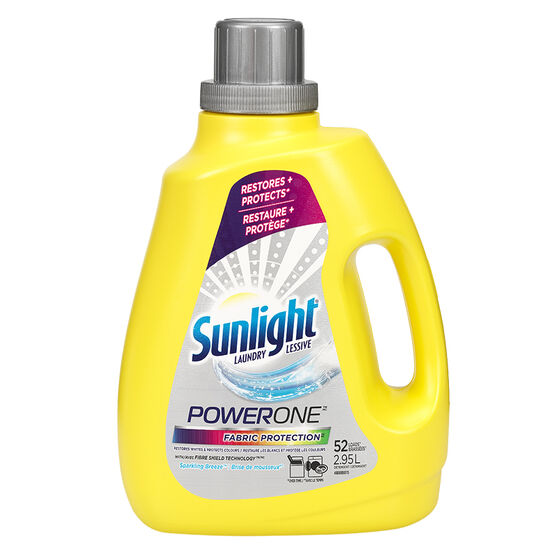 Sunlight Powerone Liquid Fabric Protection HE - 2.95L/52 Uses