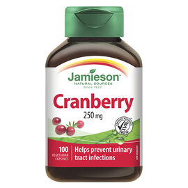 Jamieson Cranberry 250 mg - 100's
