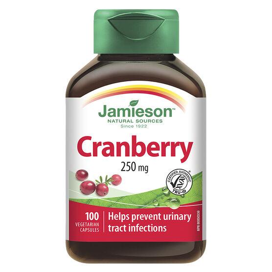 Jamieson cranberry capsules